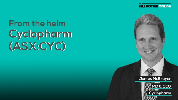 From the helm: Cyclopharm's (ASX:CYC) MD & CEO, James McBrayer