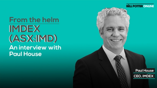 From the helm: IMDEX's (ASX:IMD) CEO, Paul House